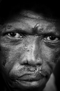 Man portrait in Soweto (South Africa)