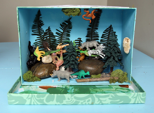 Jungle Diorama - Augie completed