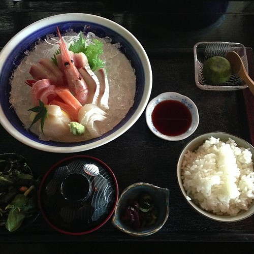 Executive #Sashimi Set Lunch. #love
