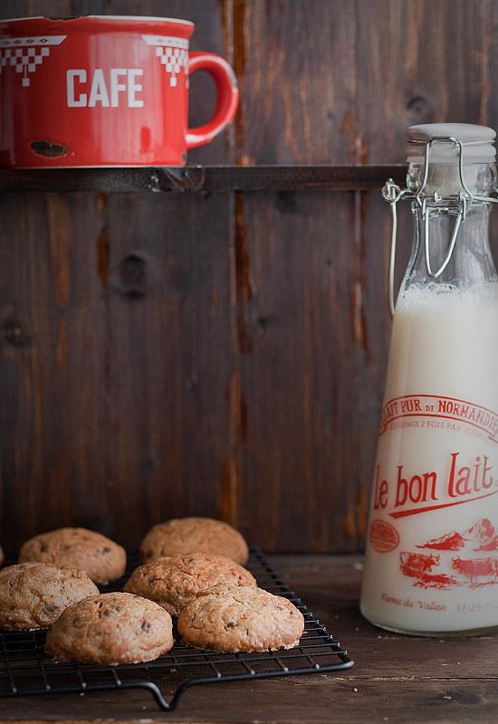Receta de cookies americanas. Cómo hacer galletas con chips de chocolate