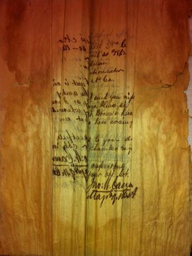 Maj. John. W. Cameron Civil War letters