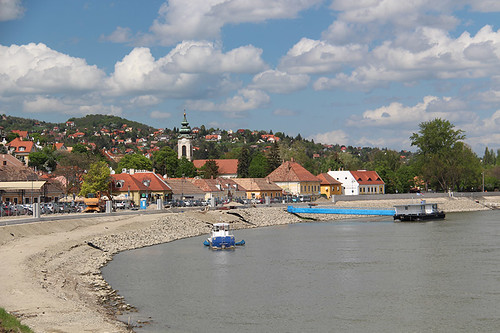 on the banks of the Danube