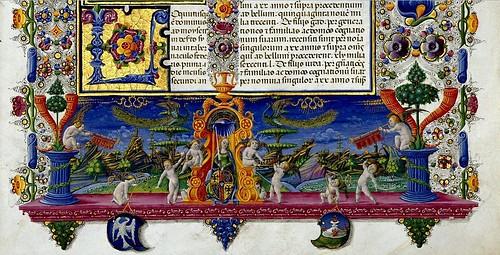 004-Bibbia di Borso d'Este-Vol 1- Hoja 113-detalle- Biblioteca Estense de Módena