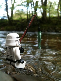 Salmon fishing on the DeathStar