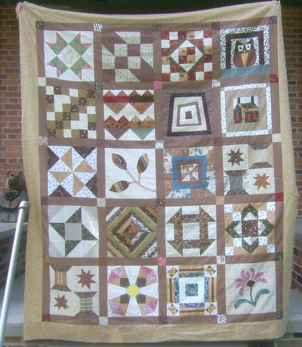 My Favorite Quilt Block QAL Finish