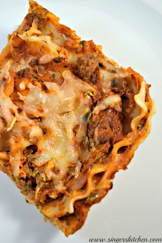 Sneak some Veggies Spelt Lasagna 2