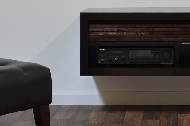 Minimalist Floating TV Stand ECO GEO Espresso  Flickr - Photo Sharing ...