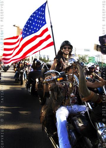 Harley Davidson 110th Parade