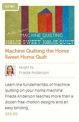 machine quilting with frieda anderson