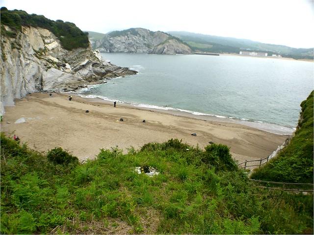 El reto, playas.