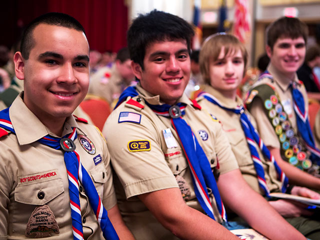 Eagle Scout Youth Honored