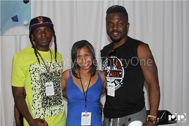 Jay Foley caught up with R2Bees and Ice Prince at BET Awards 2013 (5)