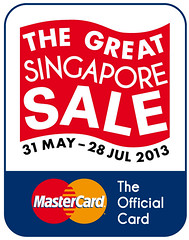 Spend and Win when You Go Great Singapore Sale Shopping with MasterCard!  - Alvinology