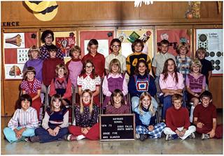 Class Picture - Grade Five, Hayward School