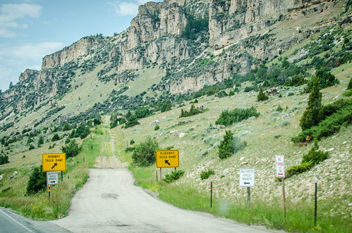 buffalo highway unitedstates wyoming runawaytruckramp