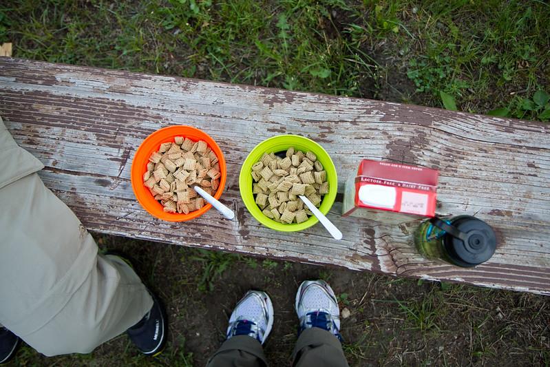 Cereal at Pine Creek
