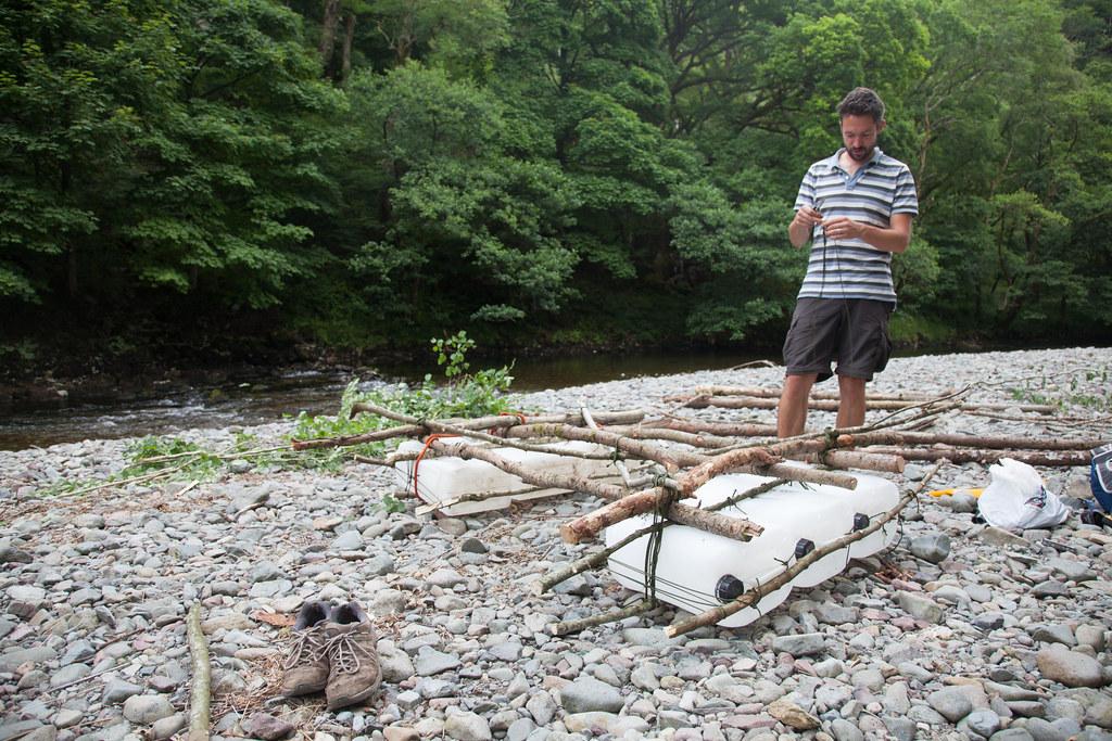 Rafting microadventure