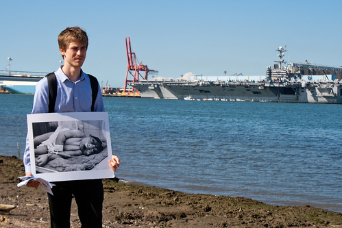 Anti-War Protest USS George Washington