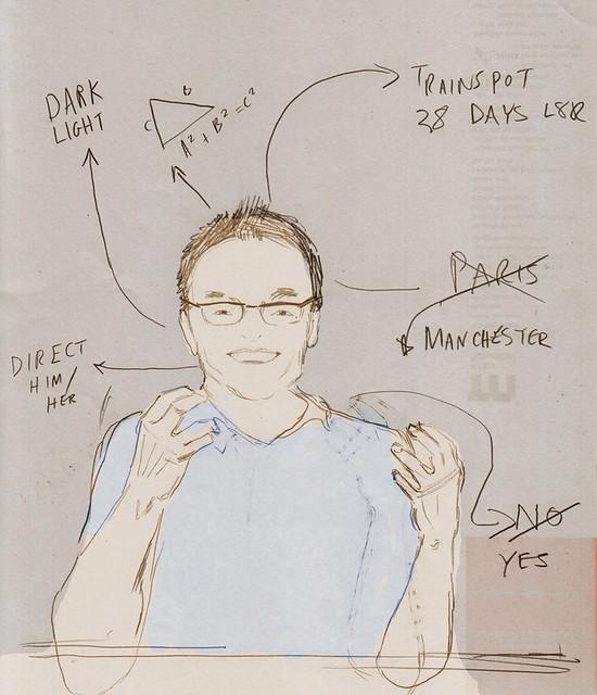 DANNY BOYLE sketch