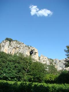 131 Uitzicht vlakbij de Pont d'Arc