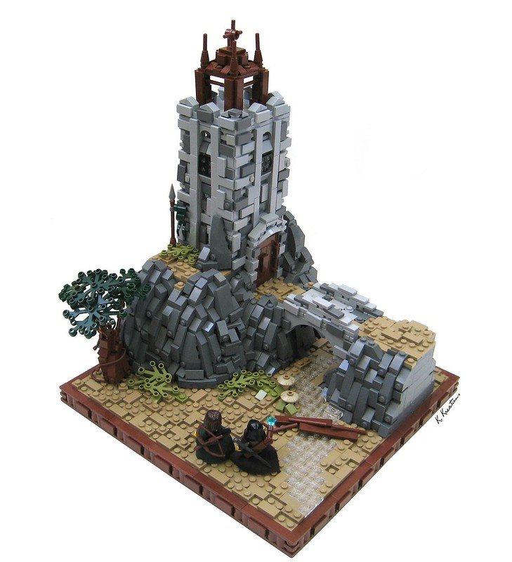 Legends of Brickdom Challenge Part 2- The Tower at Roads End