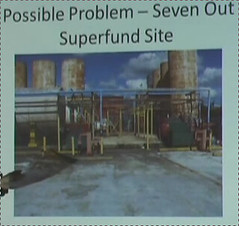 Possible Problem -- Seven Out Superfund Site