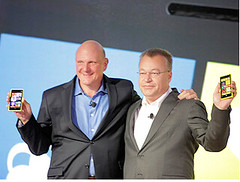 Steve Ballmer y Stephen Elop