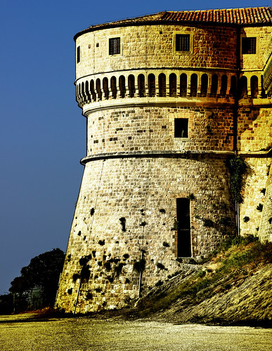The Fortress of San Leo (detail) - Explore 6-9-2013