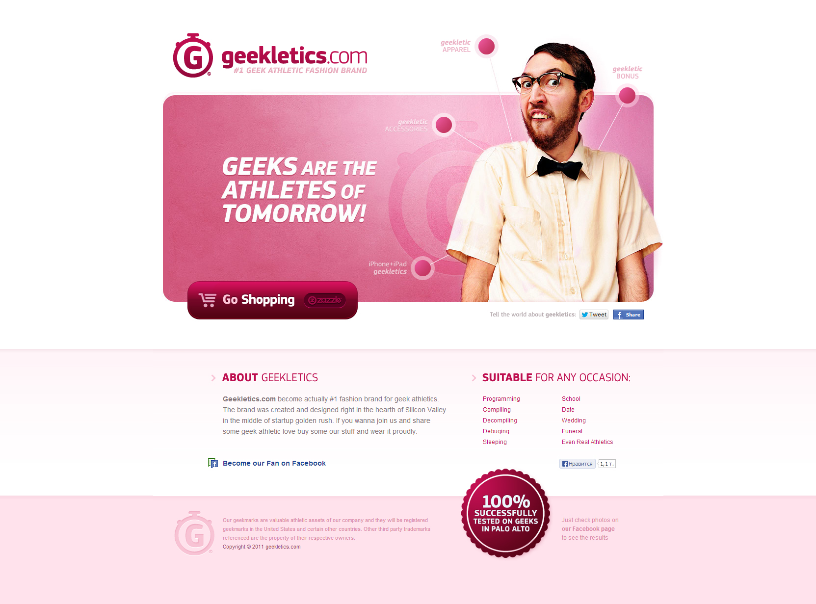 Geekletics Online Shop