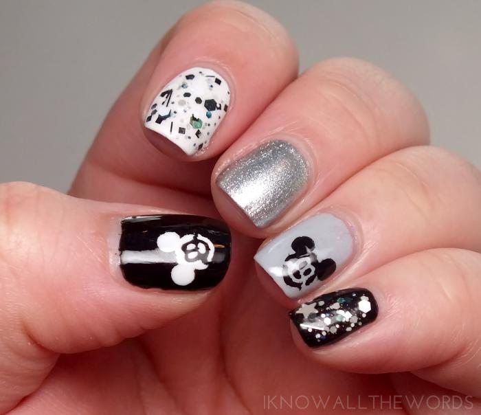 smART nails stencils- P033 Mouse (3)