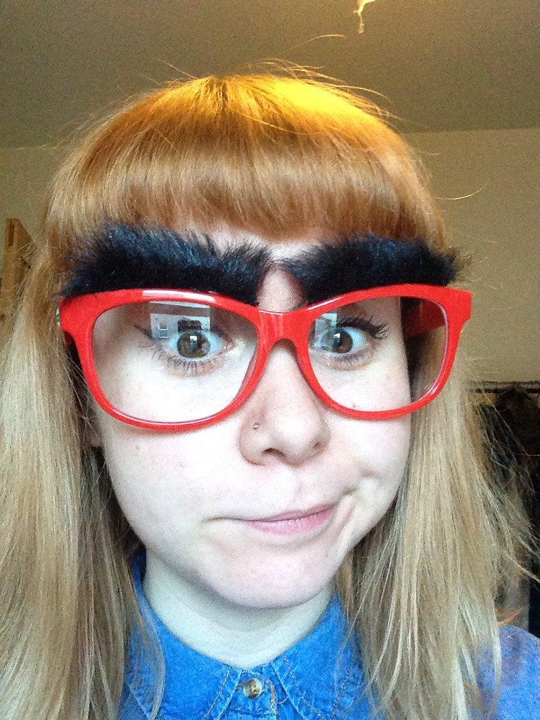 Red Nose Day 2015 make your face funny for money with Specsavers Bristol
