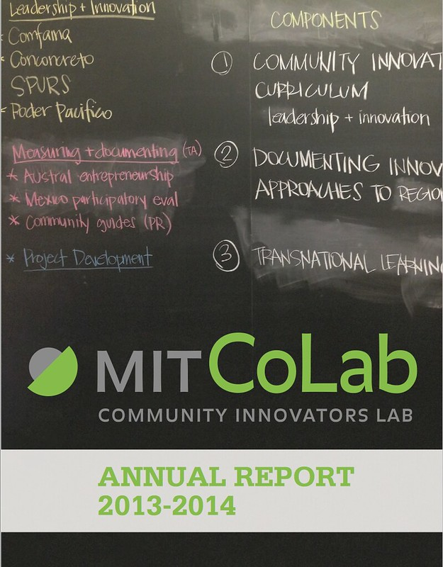 CoLab Radio Annual Report Cover