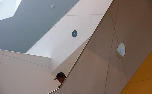 """IMG_2460 """"Looking Down"""" Denver Art Museum (DAM) Denver, Colorado"""