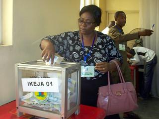 Wahlkampf in Nigeria 2015