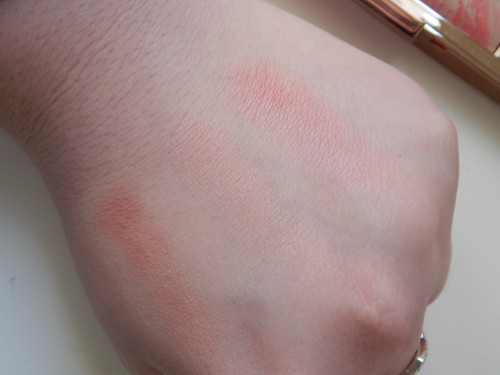 Hourglass Ambient Blush Palette Swatches