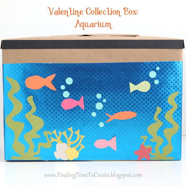 Aquarium Valentine Collection Box