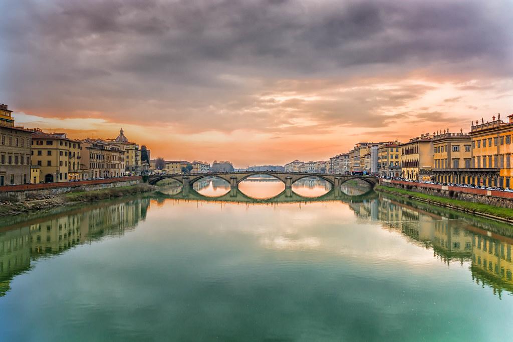 Vista sul ponte - Firenze