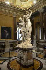At the Villa Borghese Museum and grounds (Statues/Sculptures)