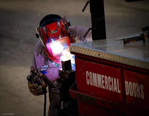 Arc light - welder