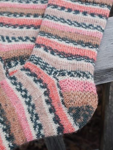 March socks, Zwerger Garn Opal