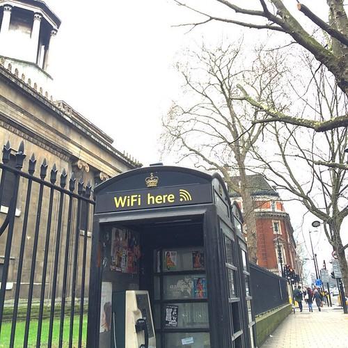 """WIFI here"" —modern London. #latergram"