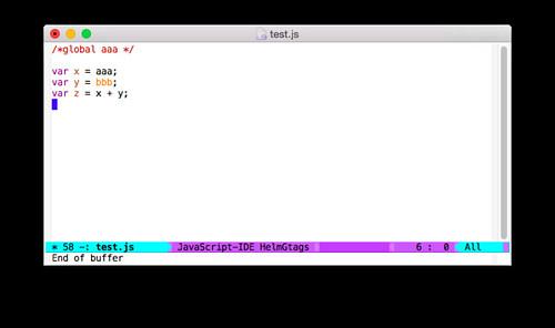 Emacs + js3-mode
