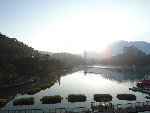 太陽出來了@日月潭大飯店