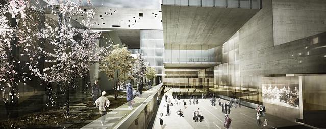 Concurso Internacional de Anteproyecto para la ampliación del Teatro Cristóbal Colón (Primera Ronda)