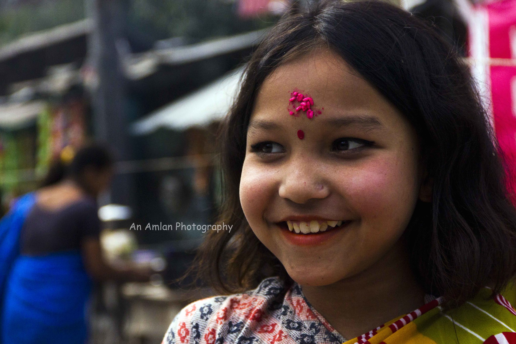 Little nepali girl