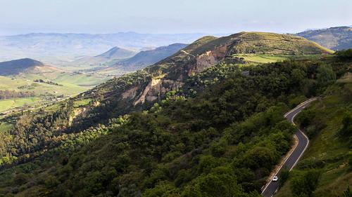 italy landscape sicily paesaggio aidone