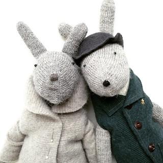 Bobby bunny is smitten #willeworks #bunny #rabbit #doll #handmade