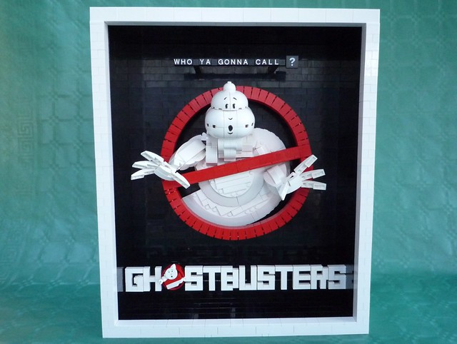 LEGO Ghostbusters Movie Poster Front View