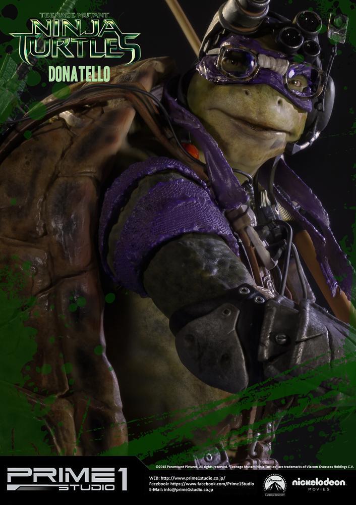 Prime 1 Studio 忍者龜:變種世代【多納太羅】DONATELLO 1/4 比例全身雕像