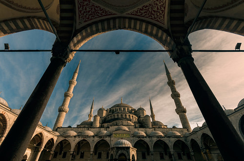 Sultan Ahmed Mosque - Istanbul.